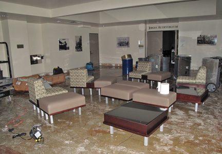 Pipe bursts, flooding Ragsdale
