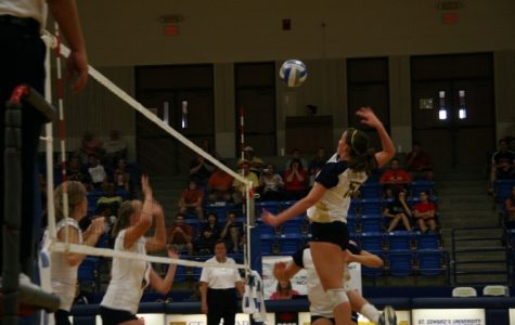 Volleyball to dig for the cure
