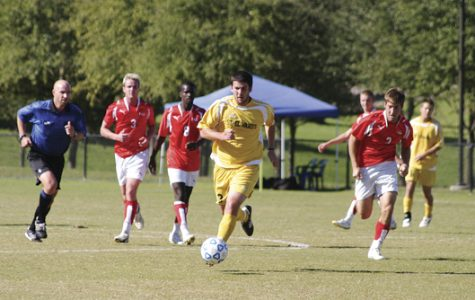 Men's soccer wins Heartland Conference