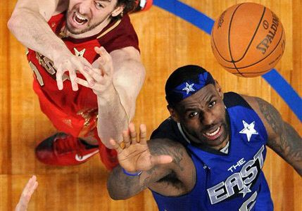 Does the white man jump from NBA because of race?