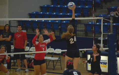 Volleyball victorious at home