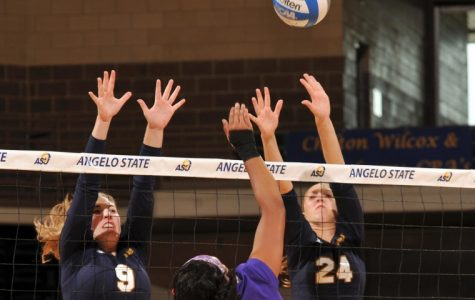 Volleyball sets up for home-court advantage