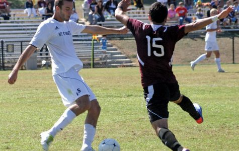 Men's soccer wins one, loses one on home turf