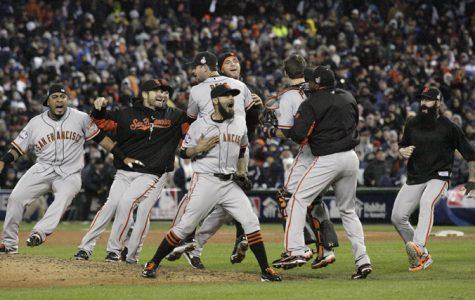 Listening by radio makes Giants' sweep sweeter