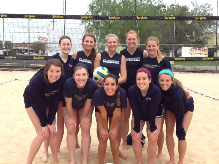 Five+teams+of+two+represented+the+Hilltoppers+in+a+volleyball+tournament+in+San+Antonio.%0A