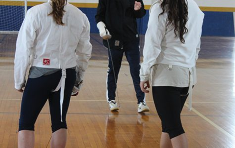 Fencing club making comeback with new course