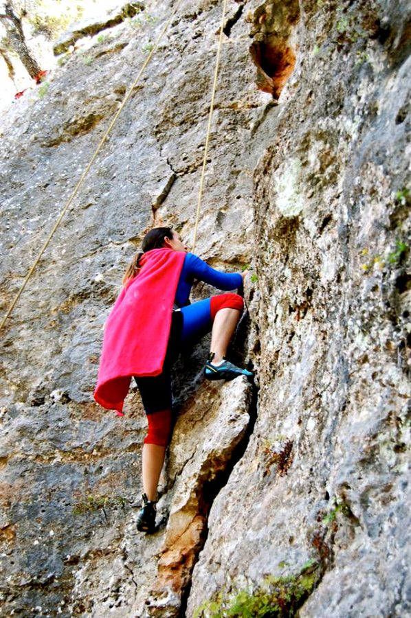 The+Climbing+Club+at+St.+Edward%27s+consists+of+14+members.%C2%A0