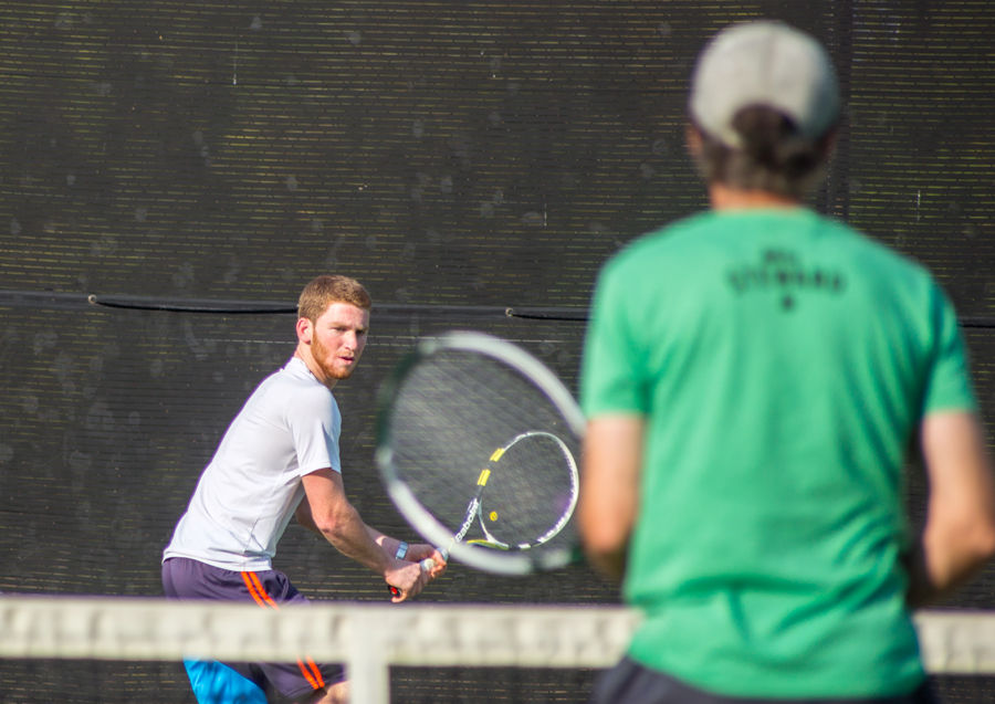 Tennis club is new to St. Edward's.