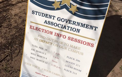 SGA application opens, elections set for first week of April