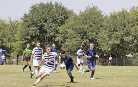 Men's soccer wins big, stay undefeated in conference play