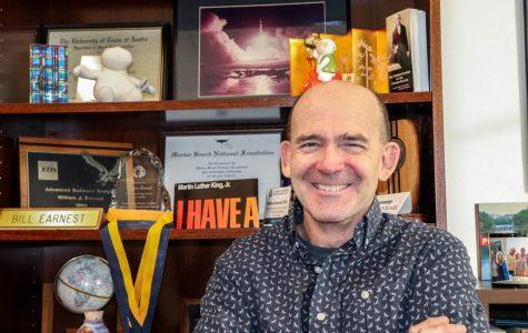 Communication professor prides himself on energy, honesty, variety