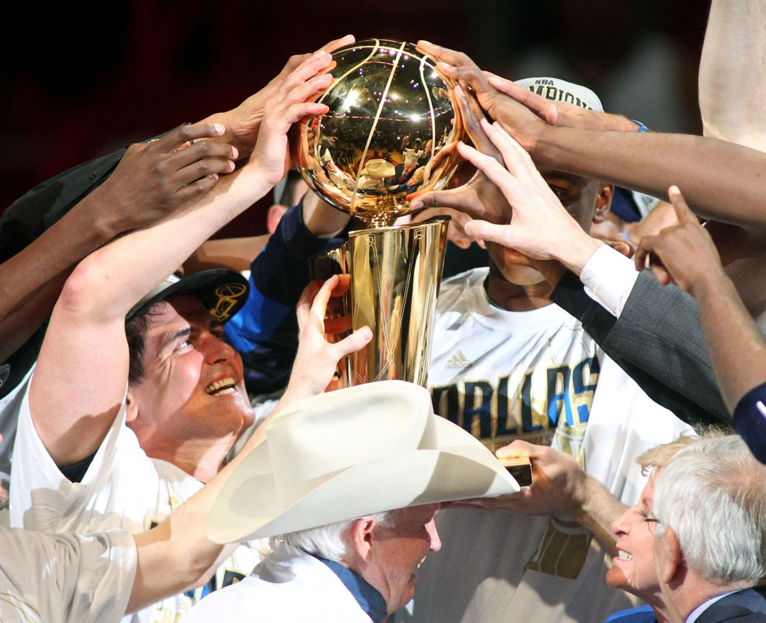 The final 16 teams are making a push for the Larry O'Brien Trophy