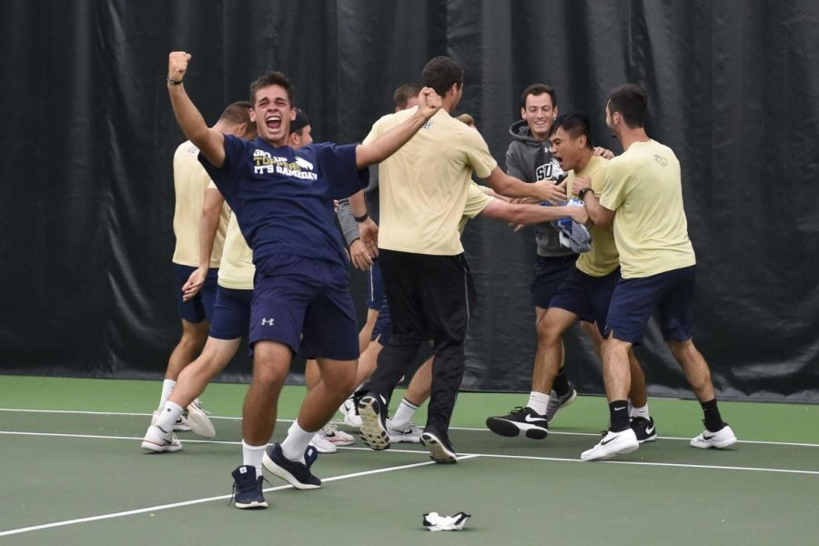 SEU men's tennis secures conference championship, advance to Sweet 16