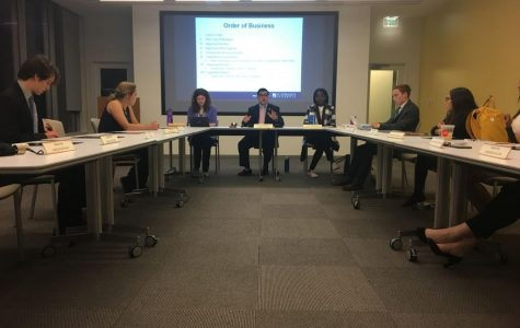Head meets table: Student Government Senate confused on bill procedures